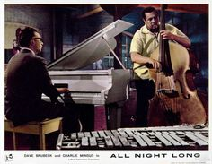 "Dave Brubeck & Charles Mingus ""Non-Sectarian Blues"" from the 1962 film ""All Night Long"" directed by Basil Dearden"