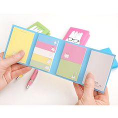 2young Cute rabbit folding sticky memo note set (http://www.fallindesign.com/2young-cute-rabbit-folding-sticky-memo-note-set/)