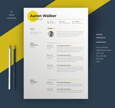 Minimalist clean resume templates, best minimal resume design 100% print ready cv resume can assist you achieve the dream job. High-quality minimal resume templates that may help you land your dream job or simply create a better looking business. Professionally designed, we take a unique approach to boring business documents, creating modern, sophisticated and easy to use […]#job #cv #resume #template #moderncv #professionalcv #download Creative Cv Template, Best Free Resume Templates, Modern Resume Template, Cover Letter For Resume, Cover Letter Template, Cv Original, Simple Resume, Unique Resume, Infographic Resume