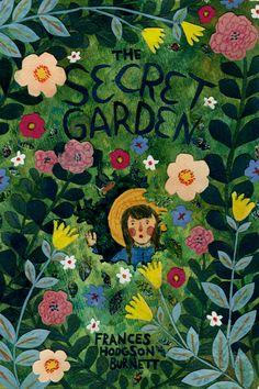 Beautiful Illustration: The Secret Garden by Phoebe Wahl