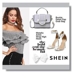 """shein"" by aminkicakloko ❤ liked on Polyvore"