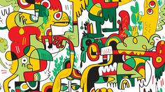 Jon Burgerman | Artist and salad enthusiast