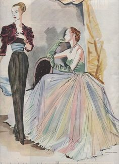 1947 - Balenciaga bolero & dress (l)