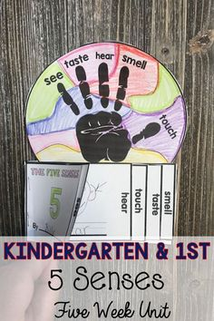 Five weeks of lesson plans, printables and inquiry in this K-1 UNIT. Teaching the five senses is a snap!