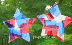 4th of July Toddler Crafts | GrandparentsPlus.com