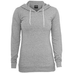 Grauer Hoodie ❤ liked on Polyvore featuring tops, hoodies, jackets, outerwear, hooded pullover, sweatshirts hoodies and hooded sweatshirt