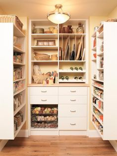 Pantry success at Toledo Huge walk in pantry with butcher block