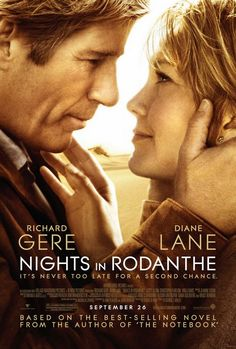 Nights in Rodanthe - Movies Based on Nicholas Sparks Novels....Jeri says: This was a very good movie. Moved kinda slow but it was so endearing how slowly and sweetly they fell in love. I believe they were both single but these days maybe not.