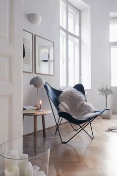 Living room ideas: table lamp by & tradition - living room room decoration room decor room decorating ideas room decor Interior Design Minimalist, Interior Desing, Interior Inspiration, Interior Lighting, Minimalist Room, Scandinavian Interior Design, Bohemian Interior, Interior Paint, Modern Minimalist