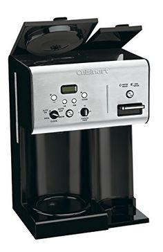 157e4418a5 Amazon.com: Cuisinart CHW-12 Coffee Plus 12-Cup Programmable Coffeemaker  with Hot Water System, Black/Stainless: Drip Coffeemakers: Kitchen & Dining