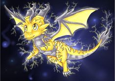 The Electric Guardian is Born by DragonCid.deviantart.com on @deviantART