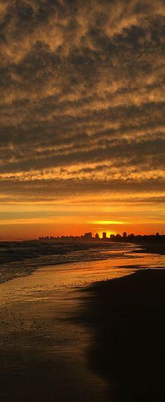 Punta del Este: Posta de sol.