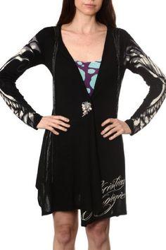 Ed Hardy Woman's Sweater tcaw6008 Black, http://www.amazon.com/dp/B00B5Q0LS4/ref=cm_sw_r_pi_awdl_6A70ub091R65V