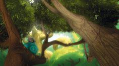 Still from CG animation Ride of Passage