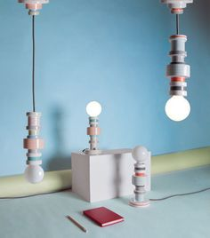 #Moresque Lamp Collection by #AlessandroZambelli for #Seletti - #modernthings #design