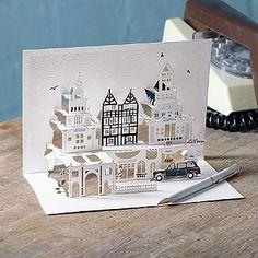£10.99 4 Pop-up London Cards  4 London scene pop-up cards.