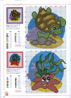 View album on Yandex. Bead Embroidery Patterns, Beaded Embroidery, Cross Stitch Patterns, Turtle Crafts, Charts And Graphs, Cross Stitch Animals, Tunisian Crochet, Cross Stitching, Needlepoint