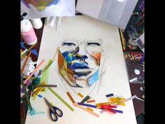 'Tough' paper artwork