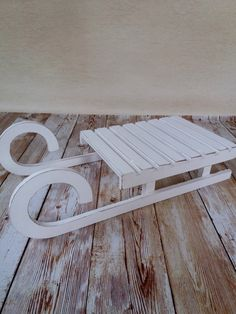 Wooden sled , Children sled,photography prop,Wooden winter sleigh by KaroLovewdzianka on Etsy