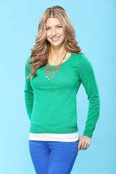 AshLee... one of my favorite Bachelor contestants this season!