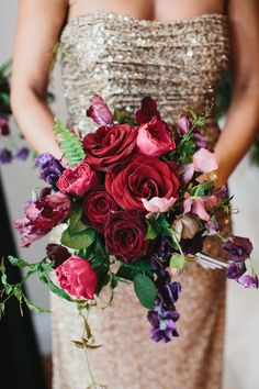 All about that GLAM {LVL Weddings via @weddingwire}