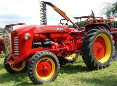 Oldtimer-Tractor BUCHER CH by Max Jakob, via Flickr