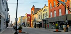 Muncie, Indiana    ~Down town in my home town~