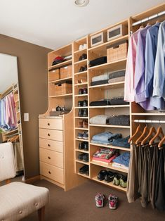 Small Closet Makeovers Design: compact organization