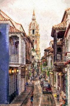 Cartagena, Columbia is a wonderful city to visit!