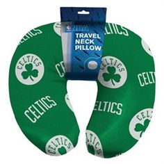 Boston Celtics Neck Pillow