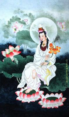 Kuan yin* https://quanyin5.wordpress.com/  My book mentions my faith in her The Goddess of Mercy & The Dept of Miracles all profits to charity thanks...*