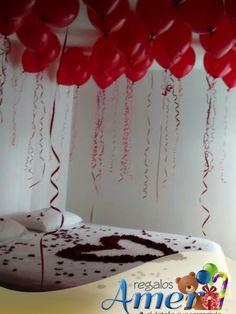 341 mejores im genes de 2017 amor en regalos amer globes plushies y birthday surprise for - Imagenes de decoracion de habitaciones romanticas ...