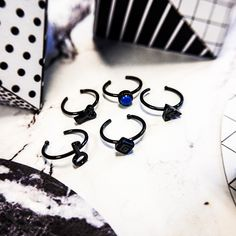 ▪ BLACK NOSE RING ▪ Available in gauge of 0.8mm and length is 8mm. Prices start from 4.19€/$4.94 #crazyfactorypiercing #crazyfactory #staycrazy #piercing #piercings #bodypiercing #bodypiercings #safepiercing #jewelry #bodyjewelry #fashion #highfashion #surfacepiercing #picoftheday #instapiercing #piercingsofinstagram #flatlay #fashiontrend #igers #instagood #alternativefashion #nose #nosring #black #lightblue #white #red #turquoise