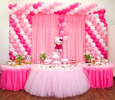 Hello Kitty party or take away Hello kitty and it becomes a ballerina party, princess party, any girl birthday party