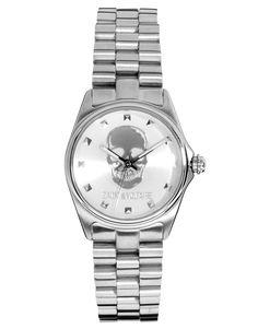 Zadig & Voltaire Silver Skull Bracelet Watch