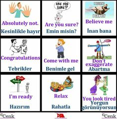 This Pin was discovered by Olg Learn Turkish Language, Learn A New Language, English Time, Learn English, British Sign Language, English Language, Education English, Teaching English, Vocabulary Journal