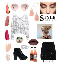 """""""Heart"""" by emese-knolmar on Polyvore featuring Miu Miu, Wildfox, Panacea, A.P.C., Claire Evans, Too Faced Cosmetics and Urban Decay"""