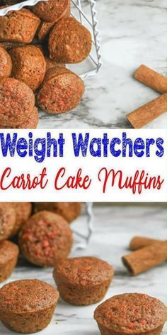 Weight watchers carrot cake muffins best ww recipe breakfast treat snack with freestyle points weight watchers baked breakfast taquitos are easy to make and only 2 3 smartpoints each! this weight watchers recipe is great for any meal or even a snack! Weight Watchers Desserts, Muffins Weight Watchers, Dessert Weight Watchers, Plats Weight Watchers, Weight Watchers Breakfast, Weight Watchers Diet, Ww Desserts, Weight Watchers Carrot Cake Recipe, Weight Watchers Cupcakes
