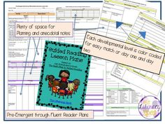 FREE Guided Reading lesson plans adapted from Jan Richardson's The Next Step in Guided Reading