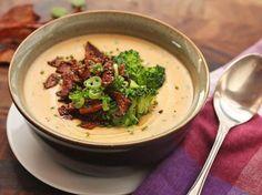 Fully Loaded Vegan Baked Potato Soup
