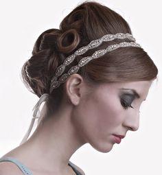 Braut Perlen Kristall Strass Oval Doppelhochzeit von IngenueB