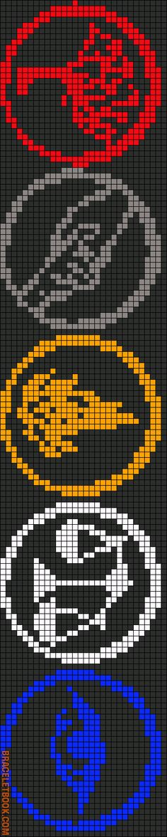 Rotated Alpha Pattern #11787 added by oliveiz44 Amity, Abnegation, Candor, Dauntless, and Eurodite