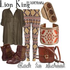 disney inspired- dressing like a disney character for the win; Lion King