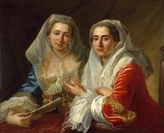 The Mirabita Sisters Antoine de Favray