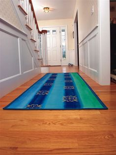 Make beautiful, easy-to-make floorcloths from canvas with these simple instructions and design ideas. Includes photos of the process and finished products.