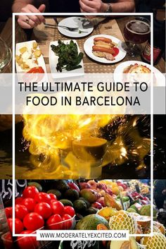 The only guide you need to the food of Barcelona, including tapas, paella, chupitos, markets and more!!