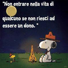 un dono - Snoopy