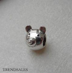 Pandora charm, cute bear retired 790121