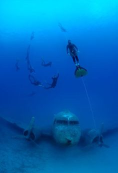 Wreck dives are always an adventure!