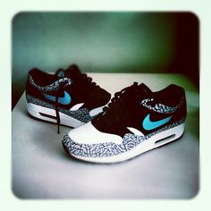 """promo code 17915 07a76 Nike Air Max 1 black clear jade-white"""""""